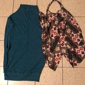 Free People Tops - 2for1 💰 H&M + Free People tops xs & s